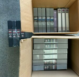 ADAT Digital Tapes JOB-LOT (Ampex, Quantegy, Apogee)