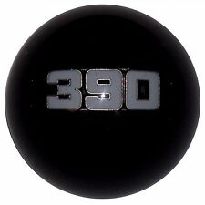 Black Ford 390 Emblem Mustang GT500 6 speed shift knob 2010-14 M10x1.25 thread