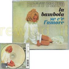 """PATTY PRAVO """"LA BAMBOLA"""" RARO CDsingolo PICTURE DISC"""