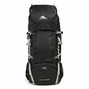 High Sierra Sentinel 65 Internal Frame Pack Black/Gray 58447-3056