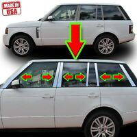Chrome Pillar Trim for Land Range Rover Hse 03-13 12pc Set Door Cover Post