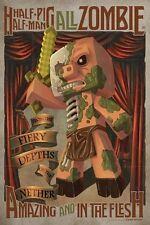 (LAMINATED) MINECRAFT HALF MAN PIG ZOMBIE POSTER (81x61cm)  NEW WALL ART