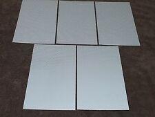 """( 5 ) Silver REFLECTIVE STRIPS sz. 8.5"""" X 5"""" Peel & Stick"""