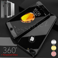 Luxury UltraThin Shockproof Hybrid 360 Case Cover For Apple iPhone 8 7 Plus 6s 5