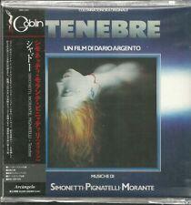 Out of Print - Japanese Import CD - TENEBRE - Goblin - Cinevox - $45