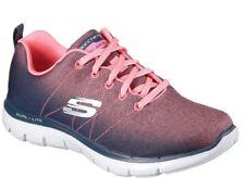 SKECHERS Flex Appeal 2.0 ~Coral & Charcoal Grey ~Mem Foam~Dual Lite  Size 10*NIB