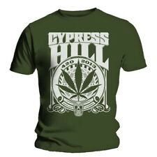 Cypress Hill 420 2013 Green T-Shirt Unisex Taille / Size S ROCK OFF