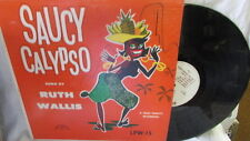 RUTH WALLIS & LORD JAMES CALYPSO INVADERS SAUCY LP WLP #15