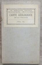 Carte Géologique de France N°76 - Laval - échelle : 1/80 000 - Ch. Béranger 1905