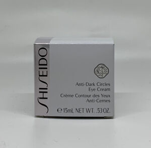 Shiseido Unti Dark Circles Eye Cream - New Unopened
