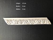 Stuckleiste Gips Wanddeko Deckenverzierung Rosette Element Ornament
