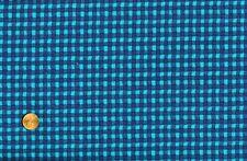 CLEARANCE - 2+YD SUPER SALE - 'GIDDYUP KIDS' BLUE PLAID QUILT FABRIC
