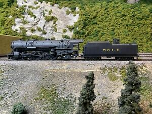 Sunset Models Wheeling & Lake Erie W&LE J-1 4-8-2 C/P HO Scale Brass