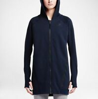 Nike Women's Tech Fleece Mesh Oversized Cocoon Hoodie Jacket  Save $90!! Large