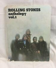1975 Rolling Stones Anthology Vol. 1 Piano / Vocal Lyrics Music Abkco w/ Photos