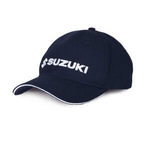 New - Suzuki Genuine Clothing (2019) - Team Baseball Cap Dark Blue - 990F0-BLFC4