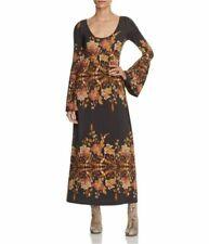 Vestiti da donna maxi neri floreale