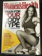 Women's Health: train for your body type (dvd,2006)