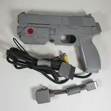 G-Con Namco NPC-103 Sony Playstation 1 PS1 Light Gun Controller & Adapter
