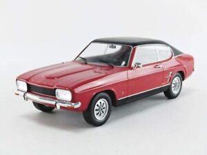 MCG 1:18 1973 Ford Capri Mk 1 1600 GT  in red