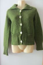KATE SYLWESTER green cardigan , size Small, AUS 6-8, new