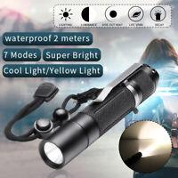 BLF A6 XPL 7/4modes EDC LED Flashlight Torch IPX-8 Super Bright Lamp 18650 +  !