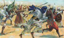 Italeri 1/72 figuras Arab / Musulmán guerreros
