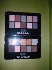 2 New Revlon Colorstay Not Just Nudes Eye Shadow Palettes Romantic & Passionate