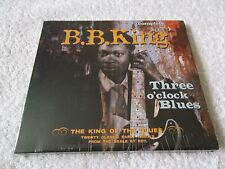 New & Sealed, B B KING - Three O'Clock Blues, CD Album 2004, 20 Tracks, Complete
