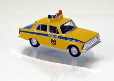 """Herpa 091725 Moskwitsch 408 """" Milizija - Polizei """" UdSSR"""