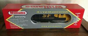 Williams Factory CUSTOM Santa Fe Blue/Yellow Engine FM-100 Trainmaster Cab 2462