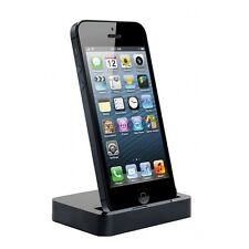 DOCK DOCKING STATION per IPHONE 5 CARICABATTERIA DA TAVOLO