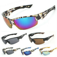 Men's Polarized Sunglasses UV Protection Glasses Outdoor Driving Sports Eyewear