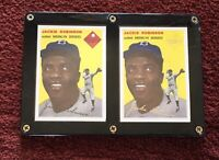JACKIE ROBINSON Signature Card Gold & Black 1994 Topps Reprint In Lucite ⚾️ #10