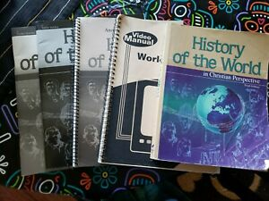ABEKA A BEKA History of the World Student Teacher Set Grade 7