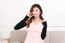 Hot Sale Fashion Women Girl Warm Arm Warmer Cotton Long Fingerless Gloves