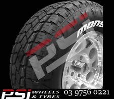 265/75R16 MONSTA 123/120Q TERRAIN GRIPPER TYRES BRAND NEW