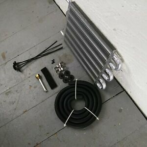 """1964-73 Ford Mustang 6-Row 13"""" Transmission Trans Oil Cooler gt350 boss 302 FE"""
