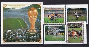 Football World Cup 1986r Sport  on stamps  perf.  MNH** AK