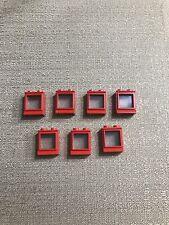 Vintage Lego 7 Red Windows 456-2