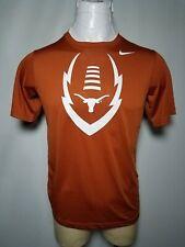 Nike Texas Longhorns Xl Dri-Fit Orange Compression Short-Sleeve Tee T-Shirt