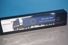 """RF39] Roco MB Sk Lorry """" Your No.1 Partner IN Europe """" Promo 1:87 Boxed"""