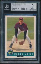 1992 Classic Draft Picks rookie #6 Derek Jeter rc BGS 9 Mint
