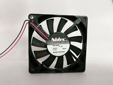 Nidec D08-24BS2 Server Square Fan DC 24V 0.12A 80x80x25mm 3wire 3-Pin