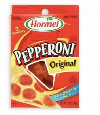 Hormel Pepperoni Original Slices - 2 Pouches Per Box (1.75 Oz Each)