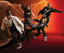 The Black Eyed Peas UNSIGNED photo -H1511- Fergie, will.i.am, Taboo & apl.de.ap