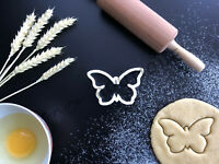 Butterfly Cookie Cutter 01   Fondant Cake Decorating   UK Seller
