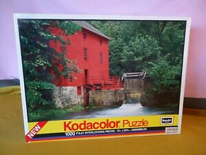 ALLY SPRING MILL Missouri  USA 1000 Piece Jigsaw 1989 Appears Complete #10726
