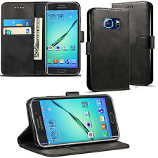 For Samsung Galaxy S6 S7 Edge S8 S9 Plus Luxury Flip Leather Wallet Cover Case