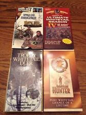 Lot Of 4 Deer Hunting Vhs Videos - Knight & Hale, Drury, American Hunter